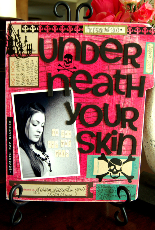 Underneath your skin